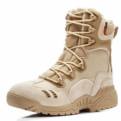 f72e26e44aa Más tamaño 35-45 hombres mujeres zapatos nos ejército combate hombres botas  tácticas otoño e