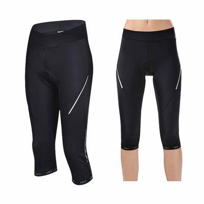 Las mujeres ciclismo cortos negro Fitness bicicletas ciclismo ropa Gel  acolchado cortos d4e0e15c2fb5d