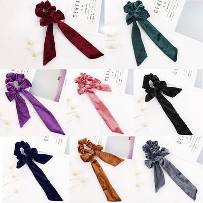 Baby Hair Ring Big Bow Headwear Velvet For Hair Decoration Accessories Practical