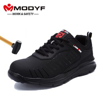 6ff8821a6e181 DYKHMILY Lightweight Breathable Men Safety Shoes Steel Toe Work ...