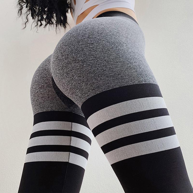 SCIONE женщин Leggings для фитнес-высокий Waist случайные брюки тренировки Leggings йога Тонкий Leggings – купить по низким ценам в интернет-магазине Joom