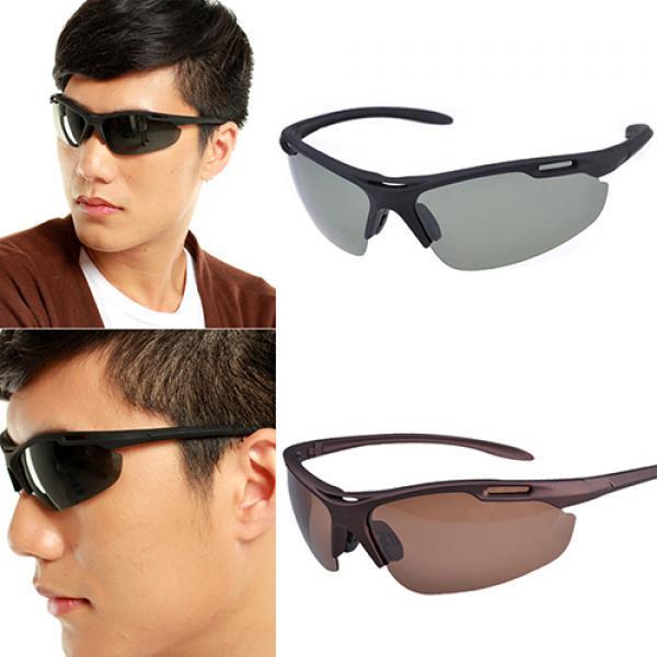 Männermode polarisierte Brille winddicht Glas fahren Rad Wander Sonnenbrillen