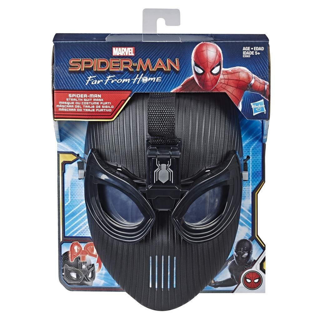 Spiderman far from home Stealth suit Cosplay Mask glasses Halloween Accessories