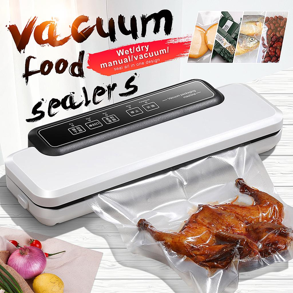 Vacuum Sealer Bags for Food Fresh Keeping Kitchen Storage Tools BPA-Free Gadget