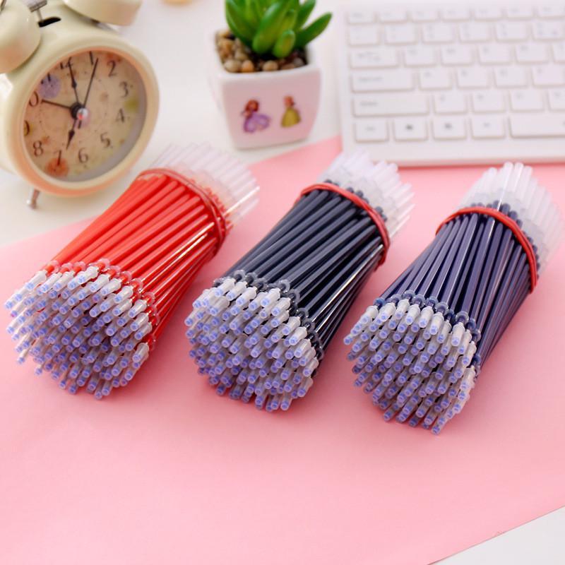 Стержни Core для шариковых ручек, 10 штук, толщина линии 0,5 мм, цвета чёрный, синий, красный фото