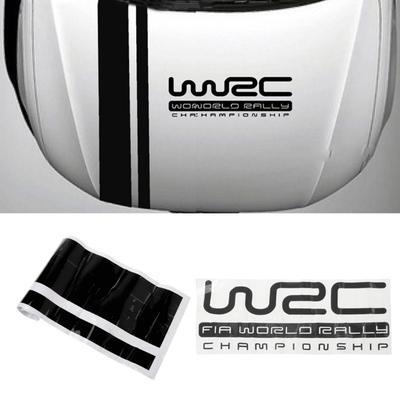 Customization Car Stripe WRC Covers Vinyl Racing Sports Decal Head car  sticker for ford focus VW