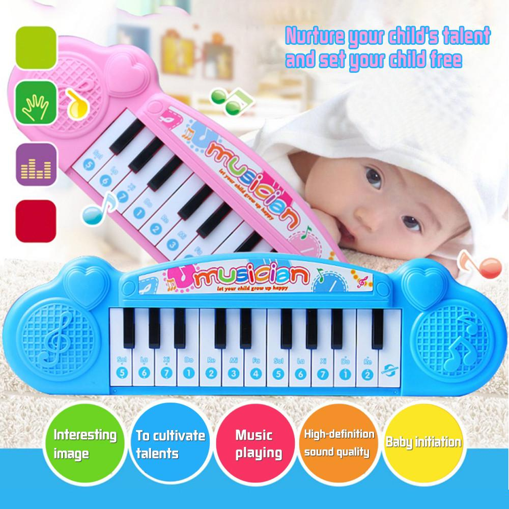 Fun Musical Instrument Toy Baby Infant Toddler Kid Piano Developmental Music Toy