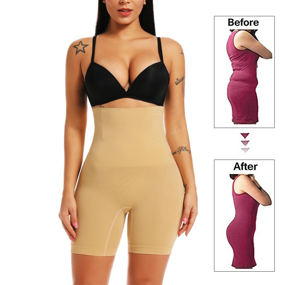Débardeur Femmes taille haute shapewear Bum Lift Tummy Seamfree cuisse Control Briefs