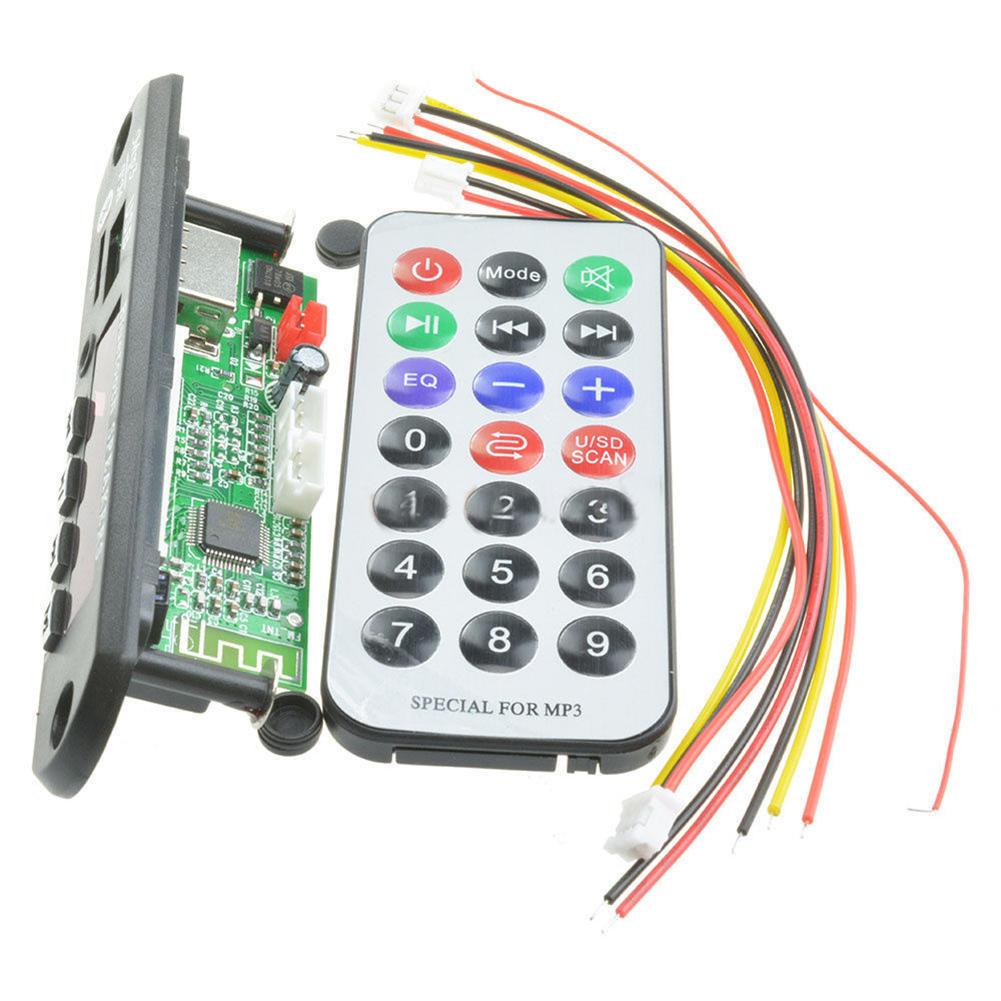 Fernbedienung 3W*3W Mini 5V MP3 Decoder Board USB Tf-karte Verstärkermodul