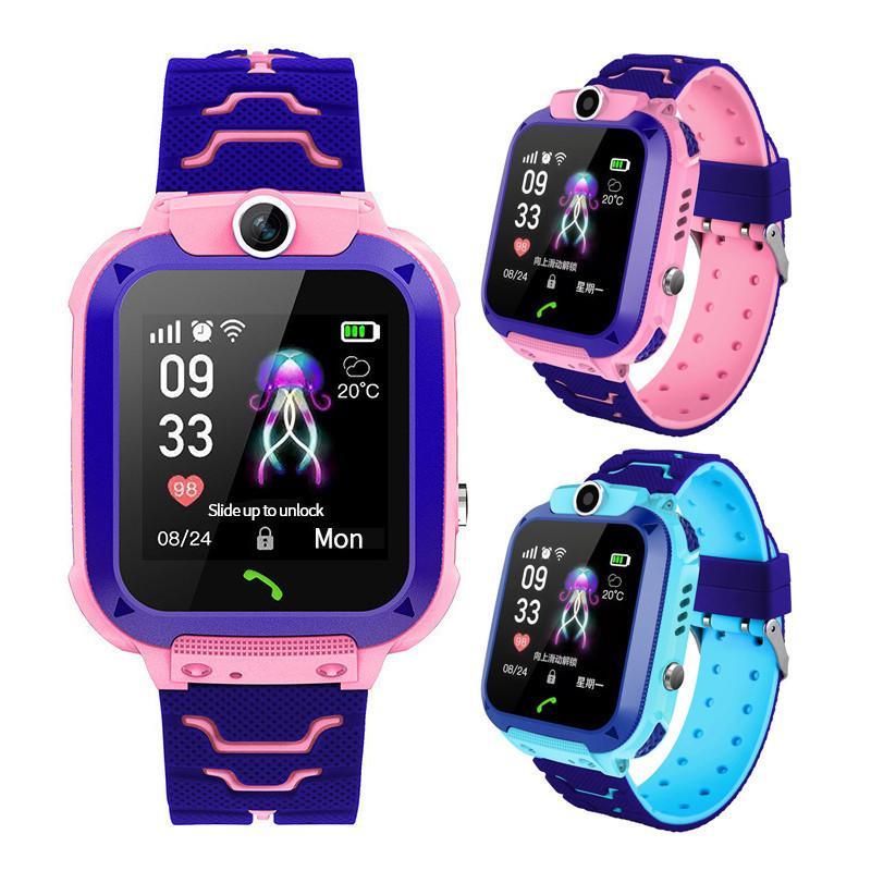 Фото - Q12 Смарт-телефон часы для детей студент 1,44 дюймовый водонепроницаемый студент смарт-смотреть удаленного вызова наматрасник dimax аква смарт протекшн плюс 200x200