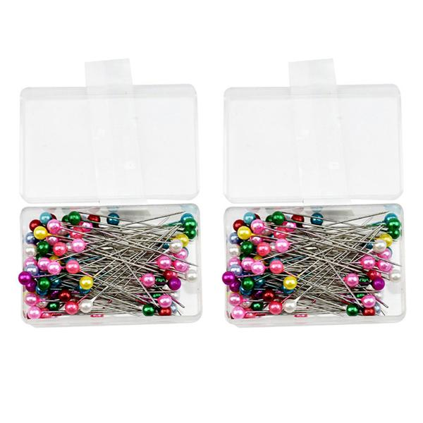 Bowknot Straight Pins 100Pcs//lot Sewing Accessories Patchwork Pins Sewing Pin with Box DIY Sewing Patchwork Pins Quilting Tool