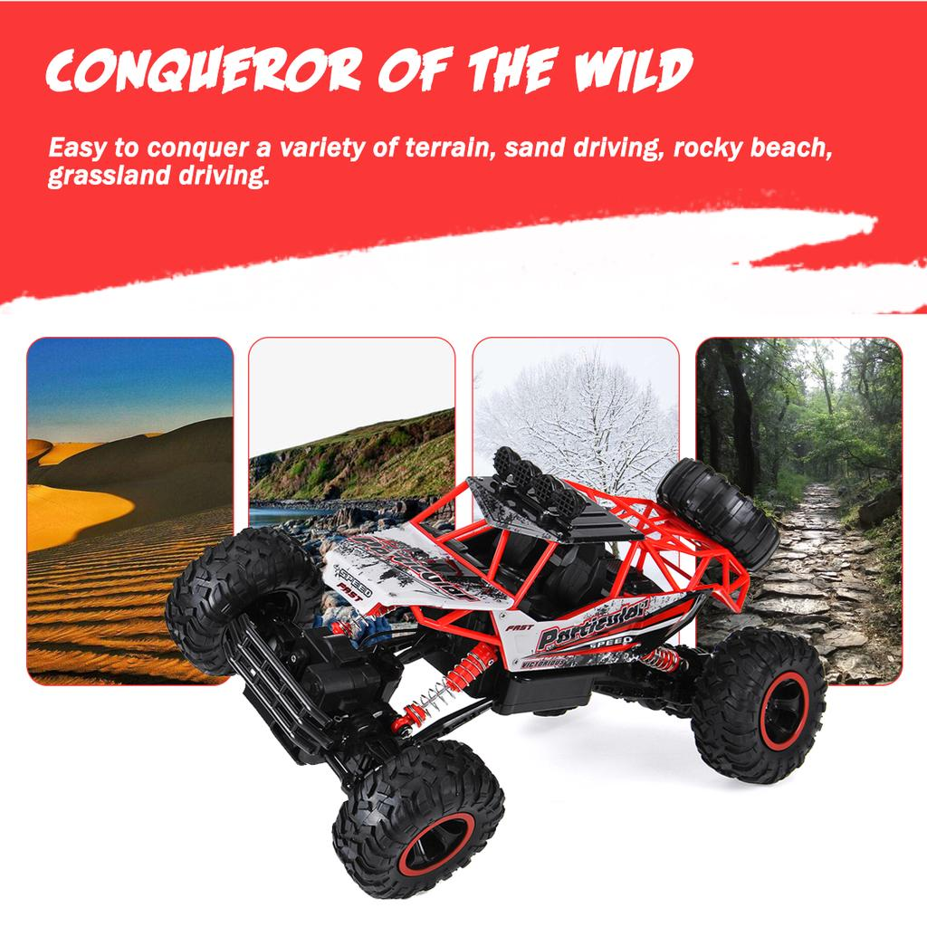 Details about  /Electric Remote Control Car Off Road High Speed Vehicle 4CH Kids Toy Xmas Gift