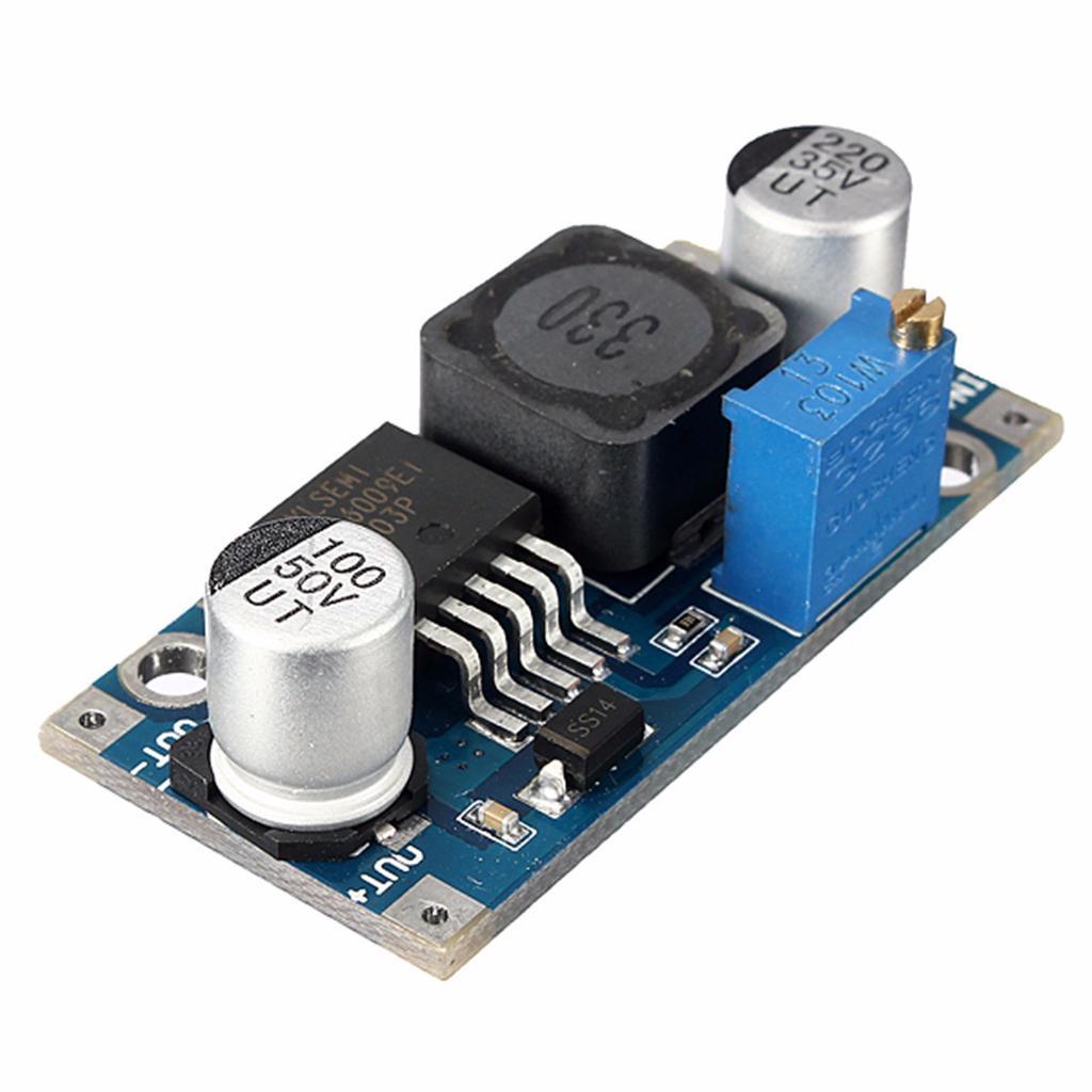 1PCS XL6009 3-32V zu 5-35V DC-DC Adapter-Verstärker-Leiterplatten-Modul