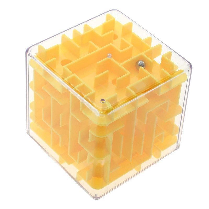 Волшебный лабиринт 3d волшебный куб лабиринт прокатки игрушки головоломки для детей взрослых SL фото