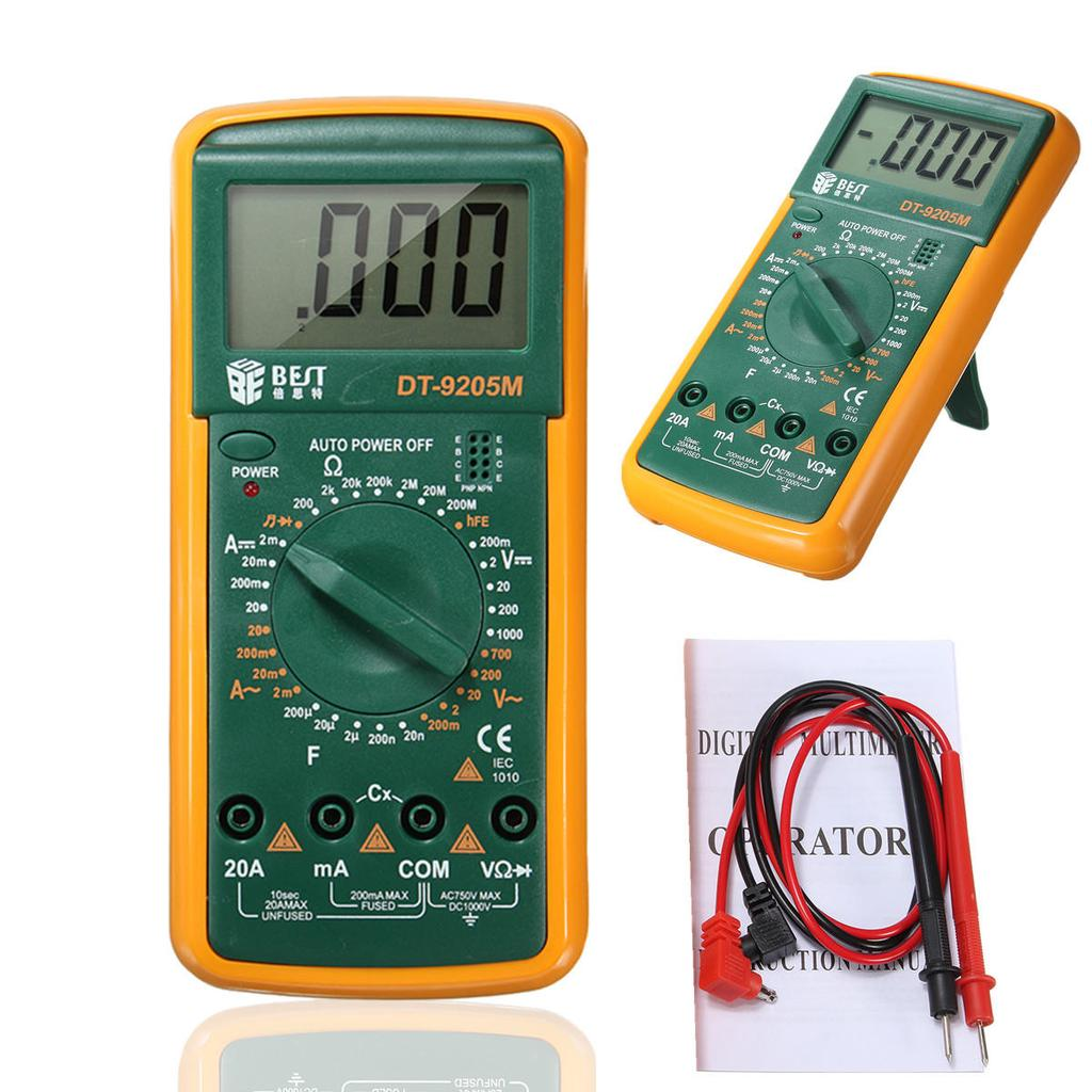 Digital Voltmeter Ammeter Ohmmeter Multimeter Volt Ac Dc Capacitance Circuit Tester Buzzer Meter Buy At A Low Prices On Joom E Commerce Platform