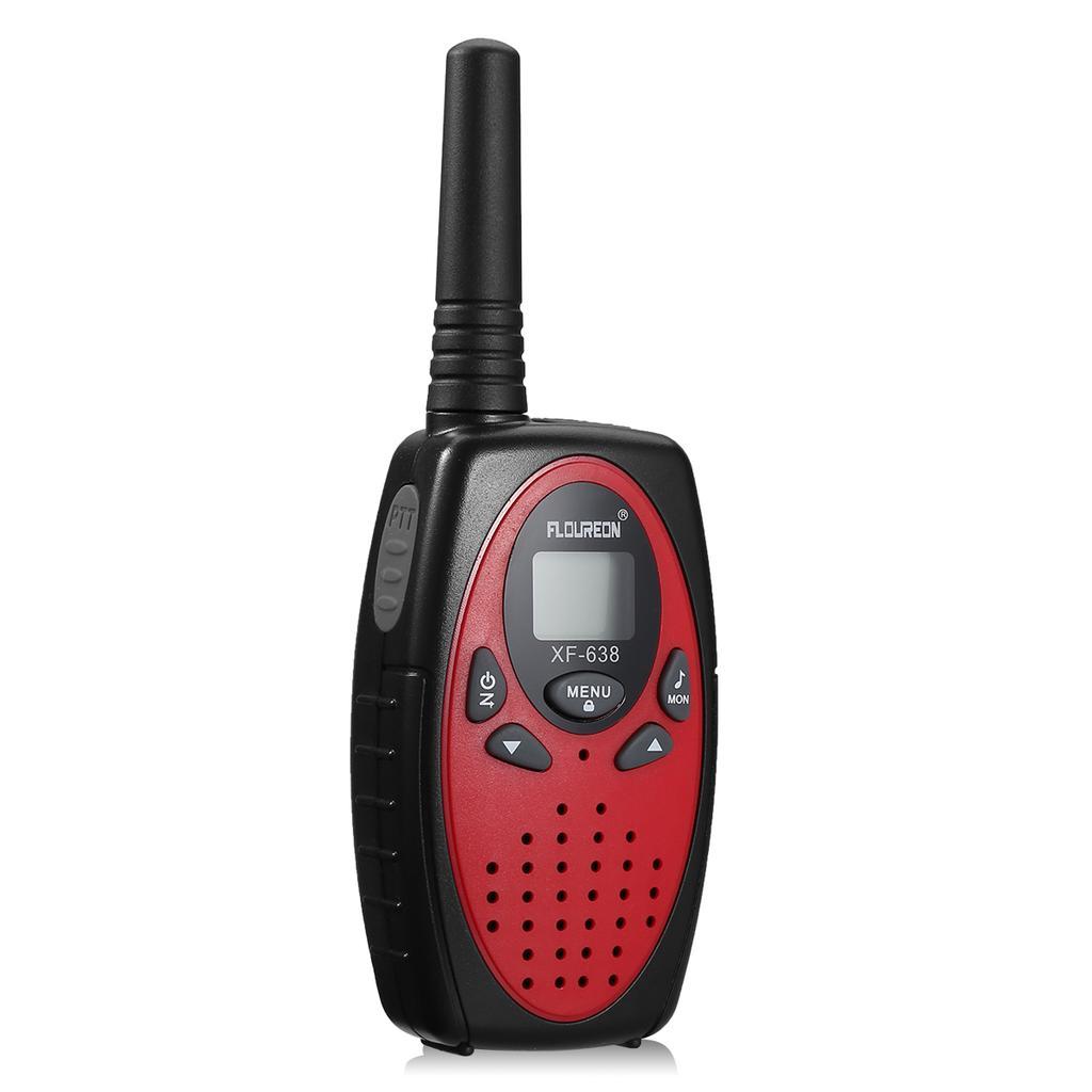4X FLOUREON 22 Channel Twin Walkie Talkies UHF462-467MHZ 2-Way Radio 3 Km Range