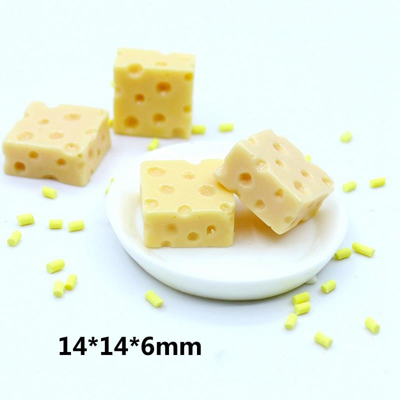 3x Simulation mini cheeses for 1:12 dollhouse kitchen food decoration*ss