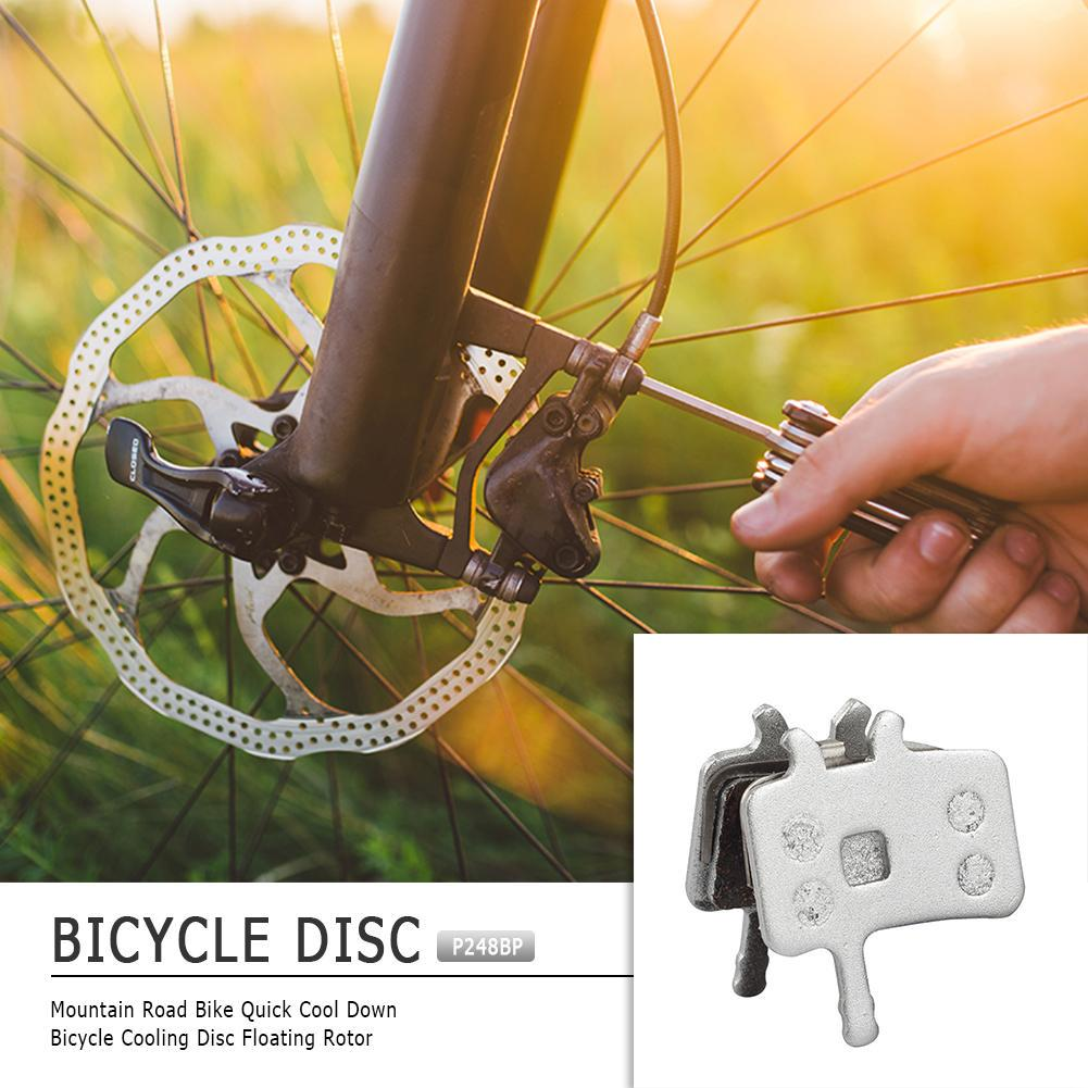 2pcs Copper Metal Bicycle Disc Brake Pads BB7 For Mountain Bike Electric Bike A