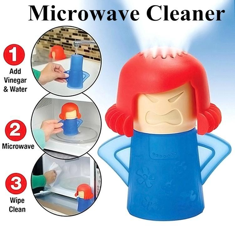 Microwave Oven Steam Cleaner Angry