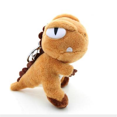 Kids 10cm Kawaii Dinosaur Plush Toys Stuffed Animals Toy Gift Pendant KeychWTUS