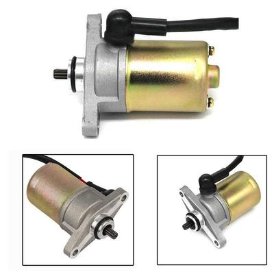 High Quality Electric Start Starter Motor GY6 48cc 50cc 80cc Gas Engine  Moped Scooter