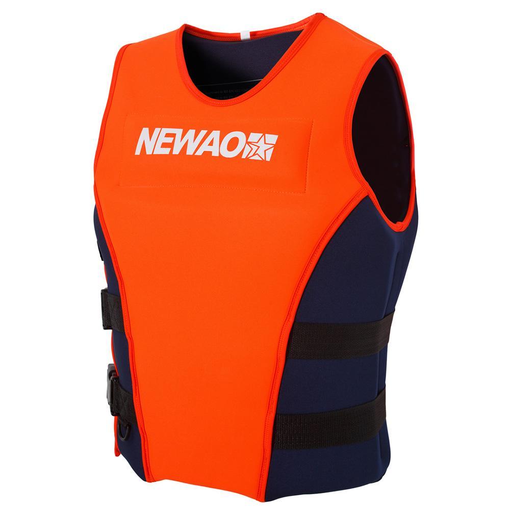 Adult Life Jacket Safety Premium Neoprene Surfing Water Ski Swimming Vest S-XXXL