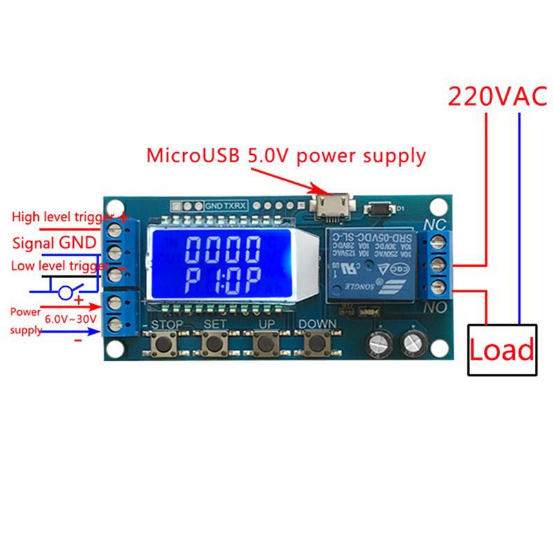 Single Row PLC Control Board Parameter Display Module Without Programming PLC Control Board Display