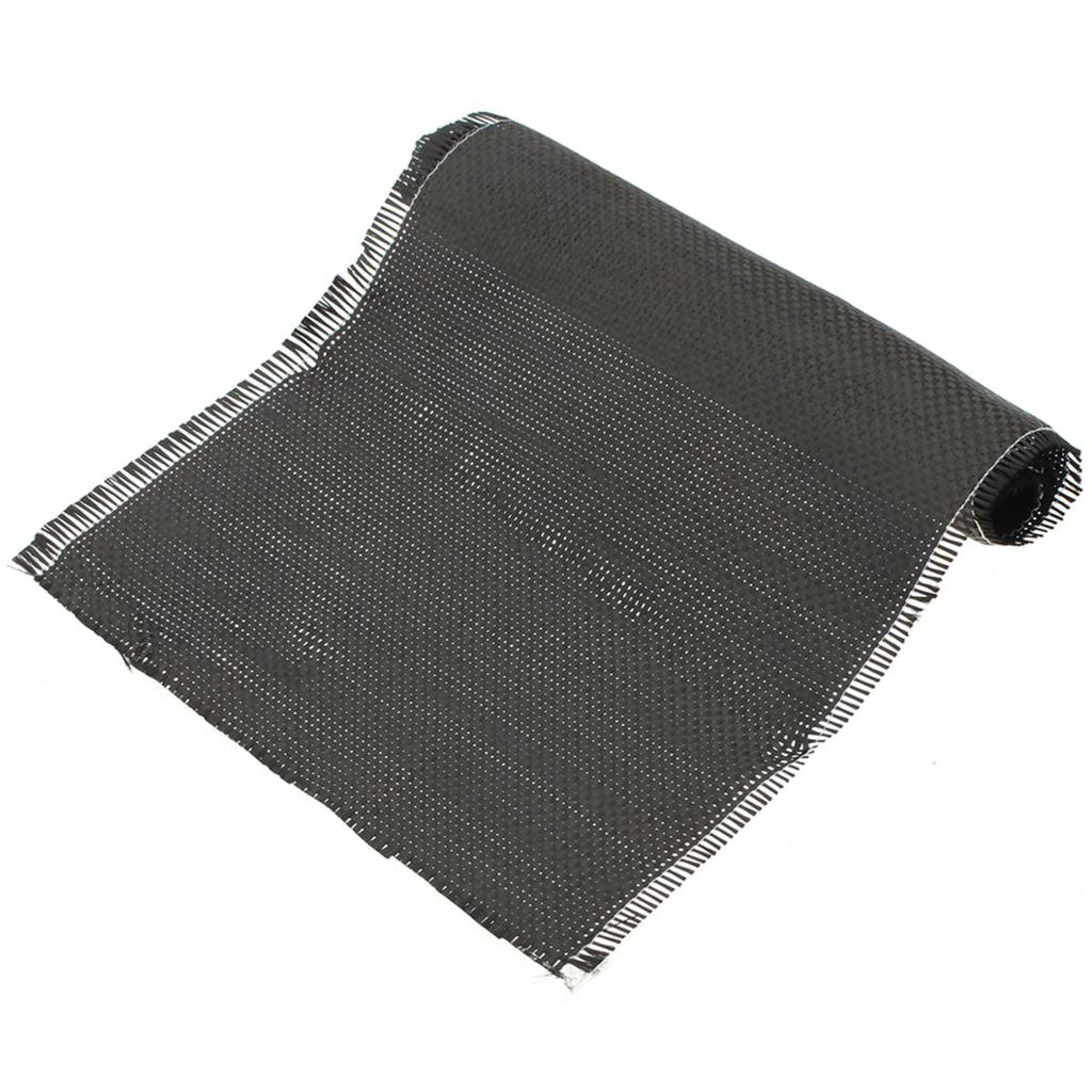 3K 200gsm 100x100cm High Strength Carbon Fiber Cloth For Interlayer 40/'/' Width !