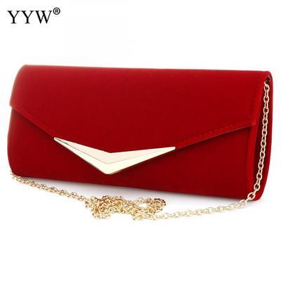 ahorrar 8fdcd 544b5 Bolso clutch rojo fiesta bolsos Baguette de marca lujo ...