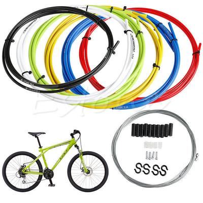 MOUNTAIN BIKE INNER AND OUTER BRAKE CABLES SETS REAR FRONT FRONT+REAR