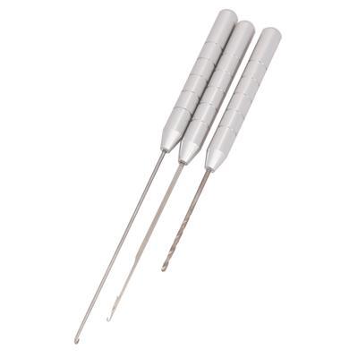 Angeln Werkzeuge 3in1 Combo Set Karpfenangeln Rigging Köder Nadel  ^