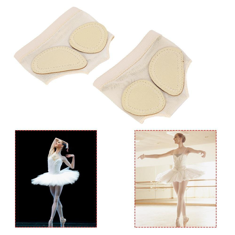 1 Pairs Belly Ballet Dance Toe Pad Foot//Feet thong Protection shoe Dance Socks