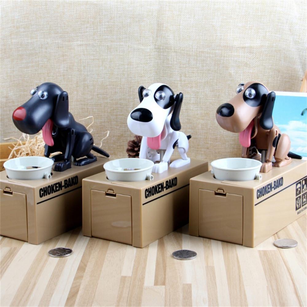 Симпатичная Автоматическая Собака Бросить Монету Банк Экономия Копилки купить недорого — выгодные цены, бесплатная доставка, реальные отзывы с фото — Joom