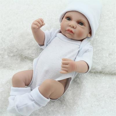 6pcs Mini Lifelike Boy Reborn Baby Dolls Real Looking Doll Newborn Doll Toy