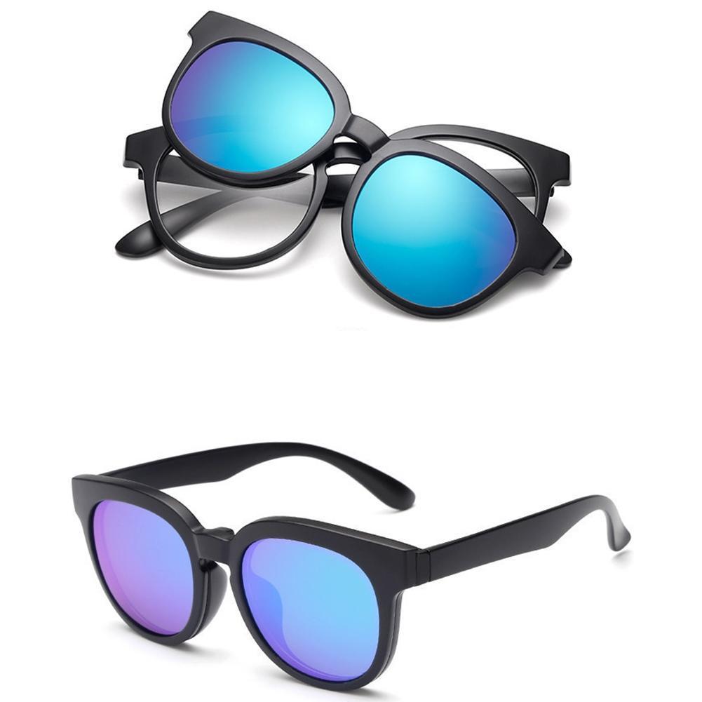TR90 Rahmen Brille polarisiert Clip Sonnenbrille UV400 Myopie Männer ...