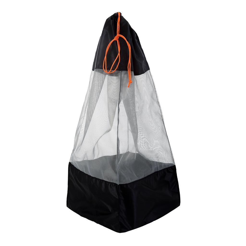 XXL Lightweight Drawstring Mesh Stuff Sack Storage Bag Hiking Camping Travel