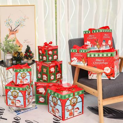Christmas Gifts Packing Box Xmas Design Christmas Decorative Box Candy Chocolate Pack