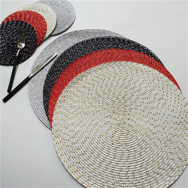Round Dining Table Mats Thick, Round Table Mats