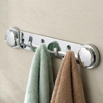 Práctica ventosa fuerte ventosa gancho cocina baño toalla colgador de pared  GS 4b976e91f8a3