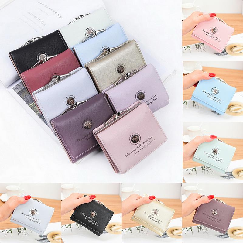 YouCY Wallet Cherry Pattern Women Girls Embroidered Wallet Exquisite Student Wallet Coin Purse Card Holder Simple Zipper Bifold Wallet,Dark Green