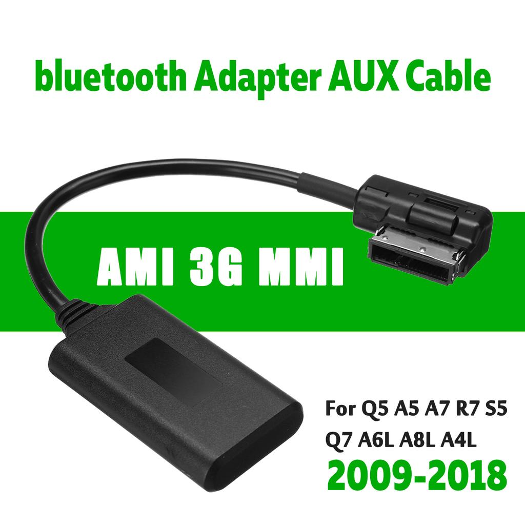 Audio Cable,Bluetooth5.0 AUX Music Interface Adapter Audio Cable Fits for Audi AMI MMI MDI