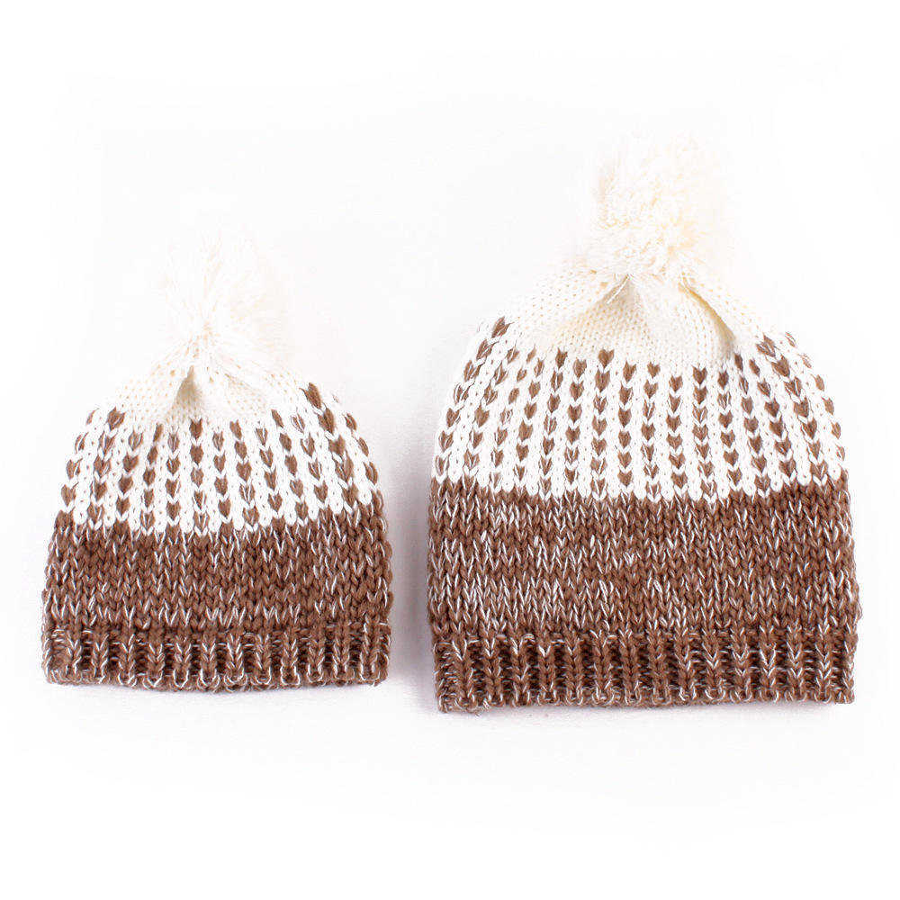 1 par caliente de invierno de MomNewborn bebé niño niña sombrero ...