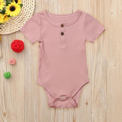 Little Chicken Fashion Newborn Baby Short Sleeve Bodysuit Romper Infant Summer Clothing