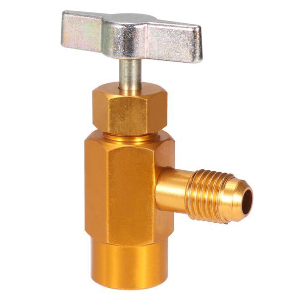 "R-134a R-134 AC Interdynamics Brass CAN TAP Dispensing Valve 1//2/"" ACME Thread"