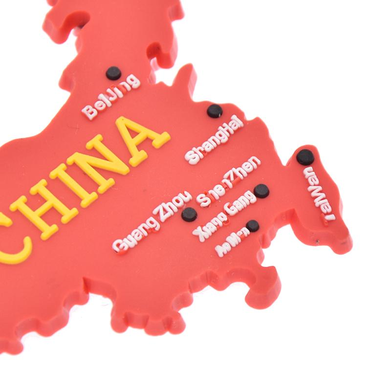 china flag map 3d fridge magnet refrigerator sticker travel gift souvenir  IS