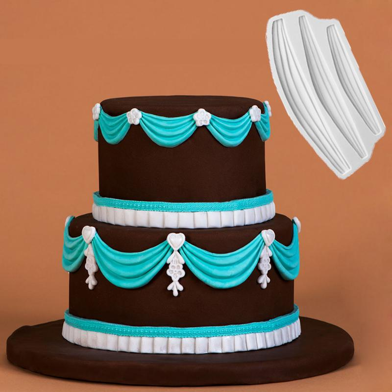 Silicone Box Fondant Cake Mold Cake Decorating Sugarcraft Chocolate Mould Xmas