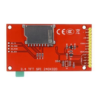 "2.4/"" 240x320 SPI TFT LCD Serial Port Module 3.3V PCB Adapter SD ILI9341"