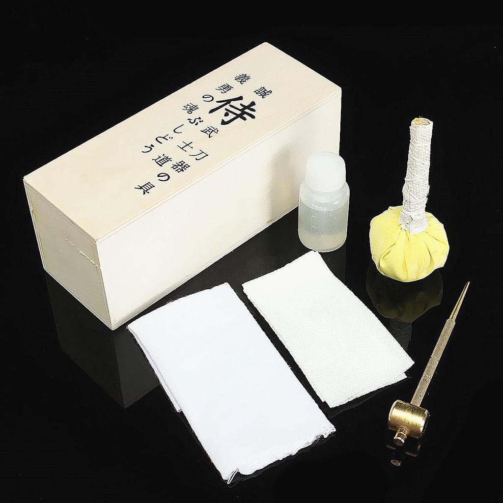 Japoneză Samurai sabie Katana întreţinere menţine sabia de Kit de curăţare  de ulei