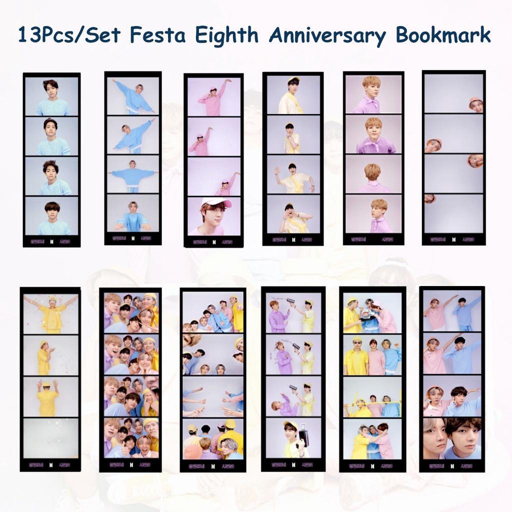 13шт / комплект Festa 2021 Kpop BTS Muster Восьмая годовщина Закладка Bangtan Boys Сувенирная карточка Студент Стационарный купить недорого — выгодные цены, бесплатная доставка, реальные отзывы с фото — Joom