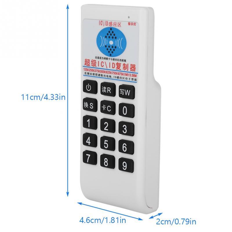 Handheld 13.56MHZ RFID IC//ID Card Smart Reader Writer Copier Duplicator